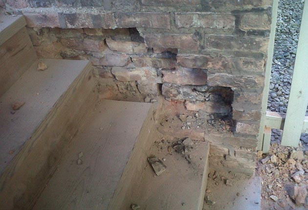 spalled brick replacement in chicago